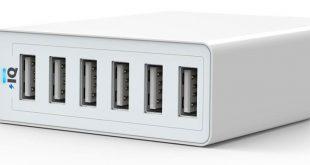 Anker 60W 6-Port Family-Sized Desktop USB Lader