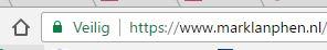 Beveiligde HTTPS verbinding