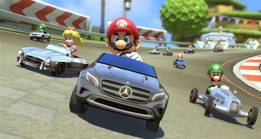 Mario Kart 8 Wii-U Update V2