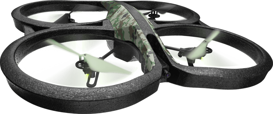Parrot AR.Drone 2.0 Elite Jungle Edition